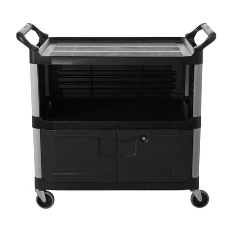 rubbermaid commercial products xtra equipment cart in