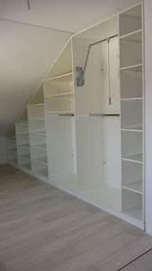 Ikea Pax Dachschräge : angled brackets used to maximize space in attic closet closet redo pinterest attic closet ~ A.2002-acura-tl-radio.info Haus und Dekorationen