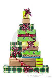 christmas tree made of gift boxes royalty free stock photos image 12064698