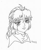 Sad Coloring Anime Sheets Drawing Line Face Crying Colouring Printable Getdrawings Results Getcolorings Puppy Coloringhome Freecoloringpages sketch template