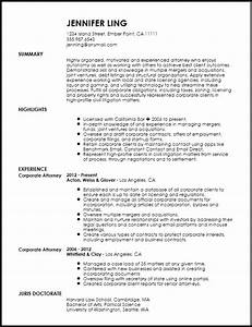 Free Contemporary In House Lawyer Resume Template