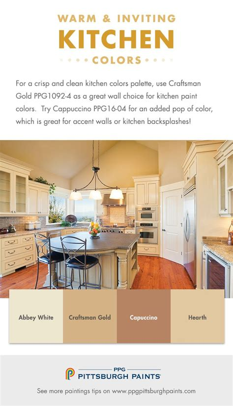 choosing warm inviting kitchen paint colors