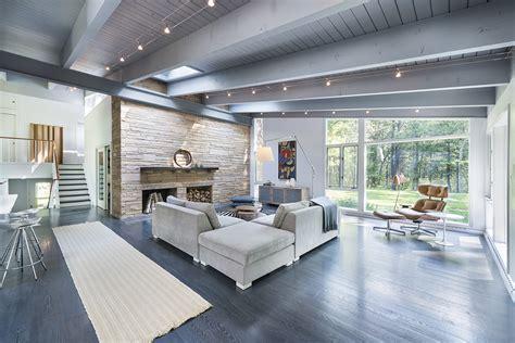 inspiring midcentury modern house plans photo inspiring mid century house remodel in lincoln massachusetts