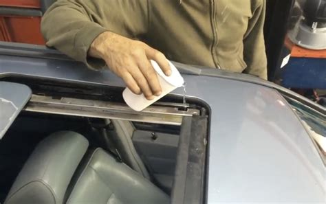 clean  plugged sunroof drains  demand video