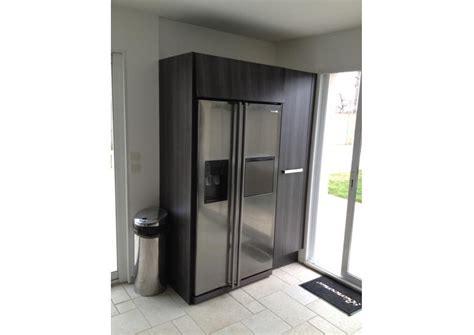 cuisine du frigo meuble frigo americain