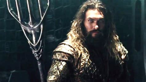 video markeing justice league official aquaman trailer
