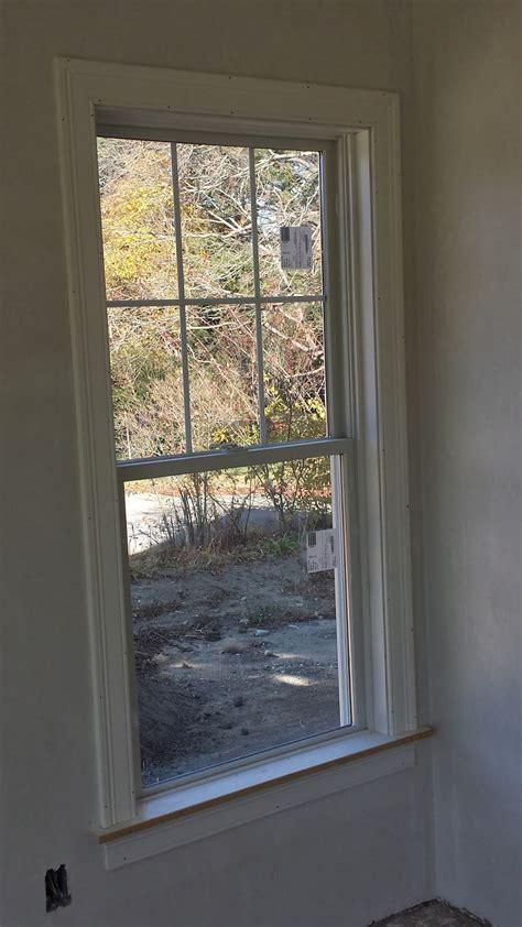 impatient home builder starting  interior trim