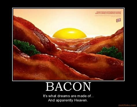 The Life and Times of Wendy Hue: Bacon Humor
