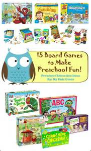 Fun Board Games for Preschoolers