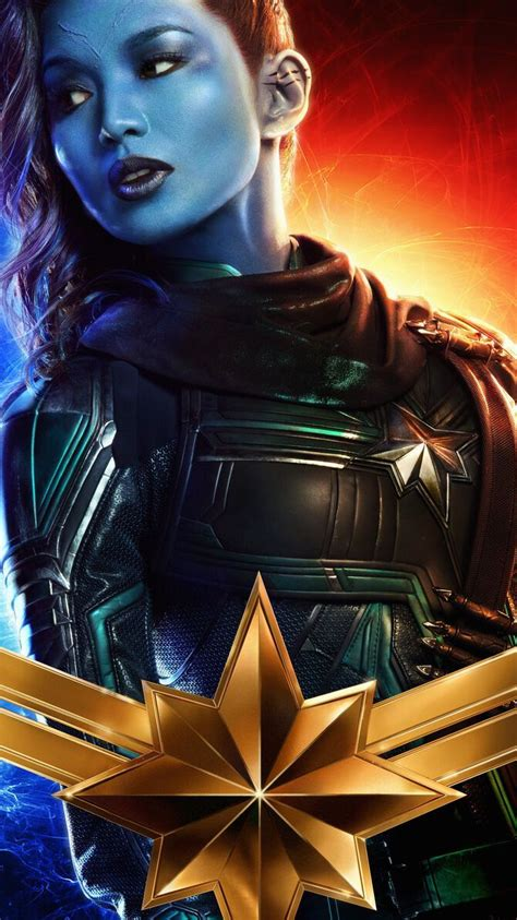Let a superhuman surge towards the sky with all her might, throw in a splash of color and out comes this wallpaper. Captain Marvel (2019) Phone Wallpaper | Captain marvel, Marvel, Captain marvel carol danvers