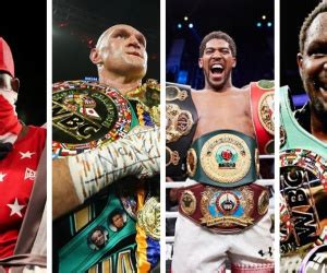 Top 15 highest rated British heavyweights in the world