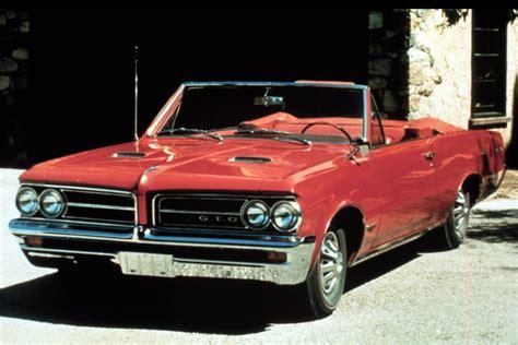 Pontiac Gto Through The Years