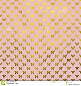 Gold Butterflies Polka Dot Metallic Faux Foil Pink ...