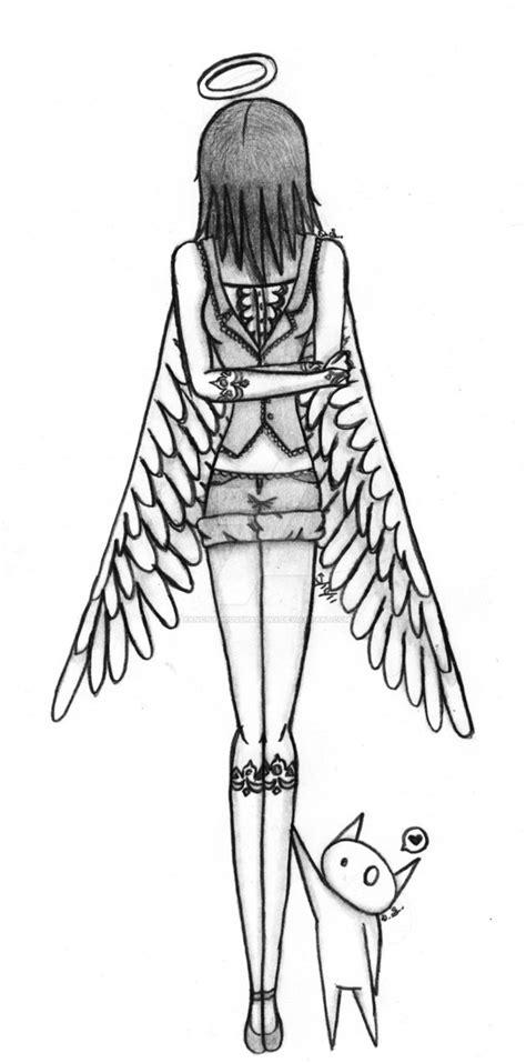sad angel  xanonymousshadowx  deviantart