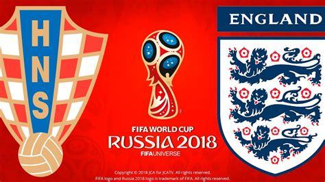 Croatia England Fifa World Cup Russia Pes