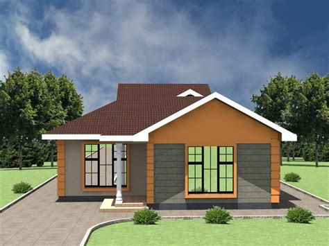 cost  bedroom house plan  kenya hpd consult