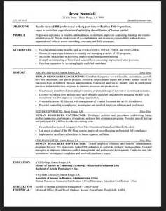 Is There A Resume Template In Microsoft Word General Contractor Resume Sle Resumes Design