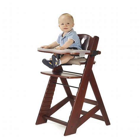 keekaroo high chair keekaroo height right high chair with tray mahogany