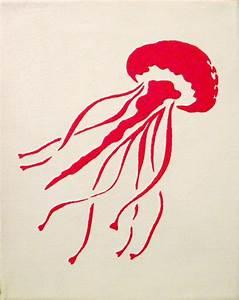 Jellyfish Silhouette - 8x10. $12.00, via Etsy ...