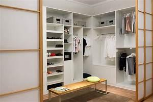 Begehbarer Kleiderschrank Ideen : begehbarer kleiderschrank ecke ~ Michelbontemps.com Haus und Dekorationen