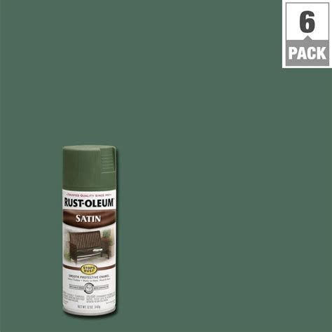 rust oleum stops rust 12 oz protective enamel hammered verde green spray paint 6 7219830
