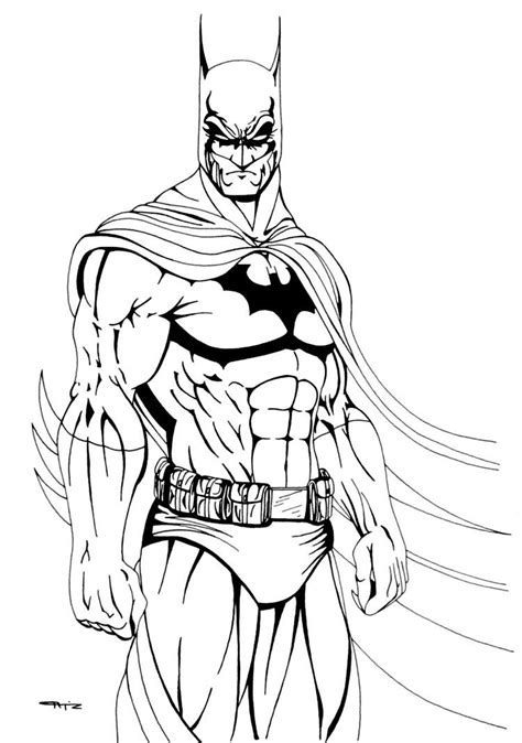 batman coloring pages comic book coloring pages