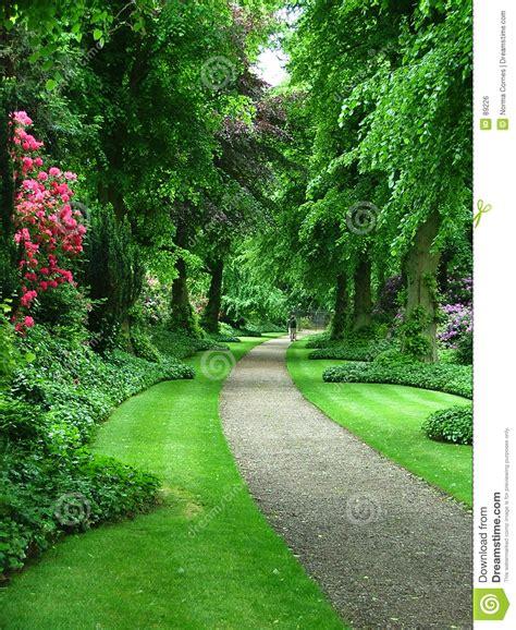 free garden paths a garden path stock photo image of beautiful gravel flowers 89226