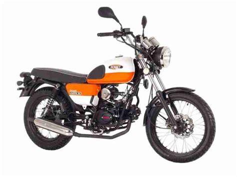 moped kaufen neu romet ogar caffe bike 50 ccm 125 ccm 4 takt bestes