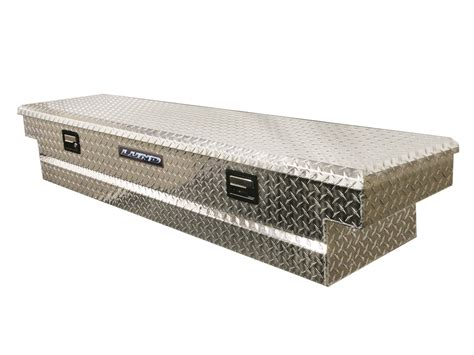 bed tool box deflecta shield 511101 aluminum cross truck bed tool box