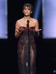 HALLE BERRY at 49th Naacp Image Awards in Pasadena 01/14 ...