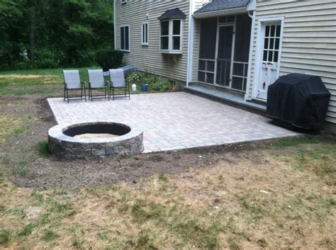 unilock camelot nardelli works camelot pavers with wall