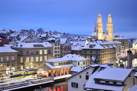 winter  zurich switzerland  cityporn