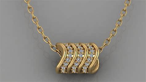 GC GOLD H164-Pandora Diamond Gold 3D printable model