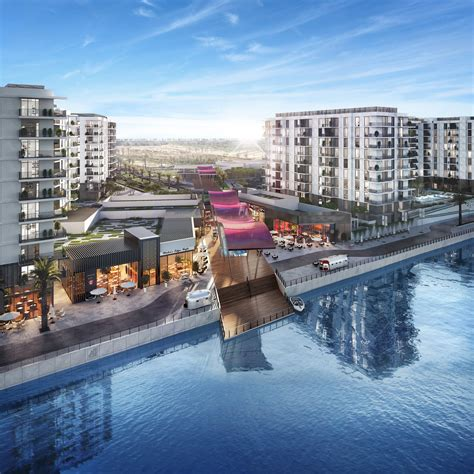 revealed abu dhabis   waterfront project