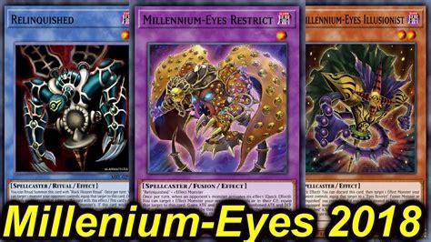 【ygopro】millennium Eyes Restrict Deck 2018 Youtube