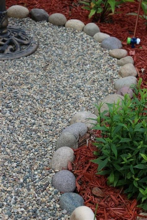 garden  gravel   nice solution  outdoor