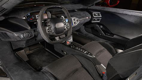 Full Size 2017 Ford Gt Supercar Interior 2018 Live