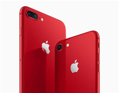 Apple Introduces New (red) Iphone 8  Plus Special Edition