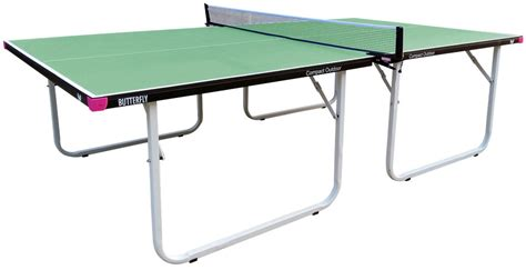 compact ping pong table butterfly compact outdoor ping pong table