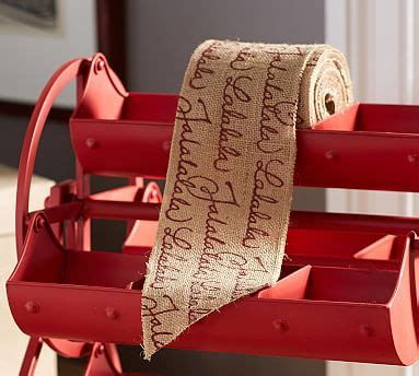 Pottery Barn Ribbon by Fa La La Ribbon Pottery Barn