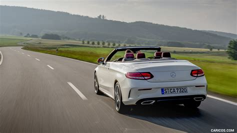 You'll receive email and feed alerts when new items arrive. 2019 Mercedes-Benz C-Class C300 Cabrio (Color: Diamond White) - Rear   HD Wallpaper #35
