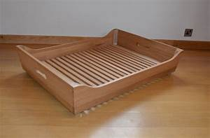 Big dog bed company for Bed frame with dog kennel