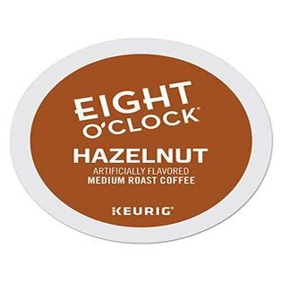 Check out our website and coffee review. Eight O'Clock Coffee Hazelnut, Single-Serve Keurig K-Cup Pods, Flavored Medium Roast Coffee, 96 ...