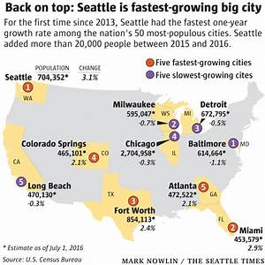 Seattle once again nation's fastest-growing big city ...
