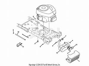 Troy Bilt 13an77ks011 Pony  2013  Parts Diagram For Engine