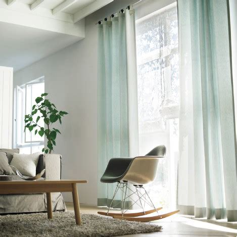 light blue curtains living room decorating clear