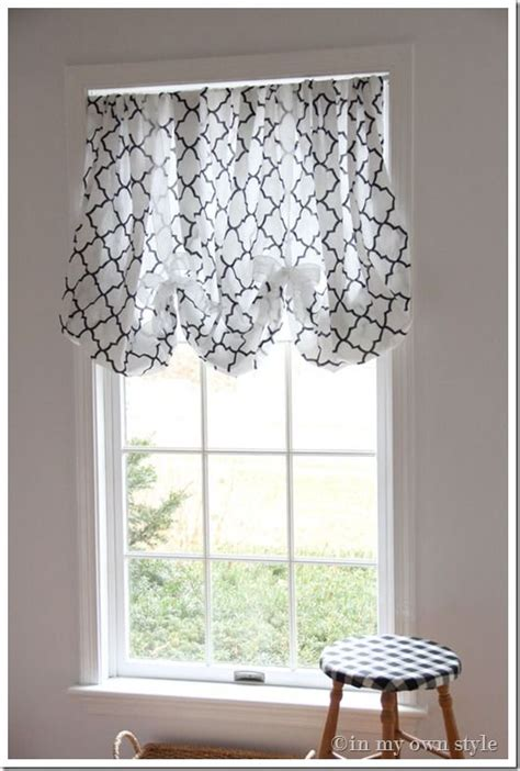in an instant no sew window treatment