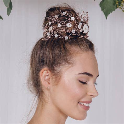 Large Statement Bohemian Wedding Headpiece Katya By Debbie ...