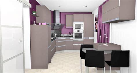 cuisine noir et blanc laqué cuisine violet et blanc meilleures images d 39 inspiration