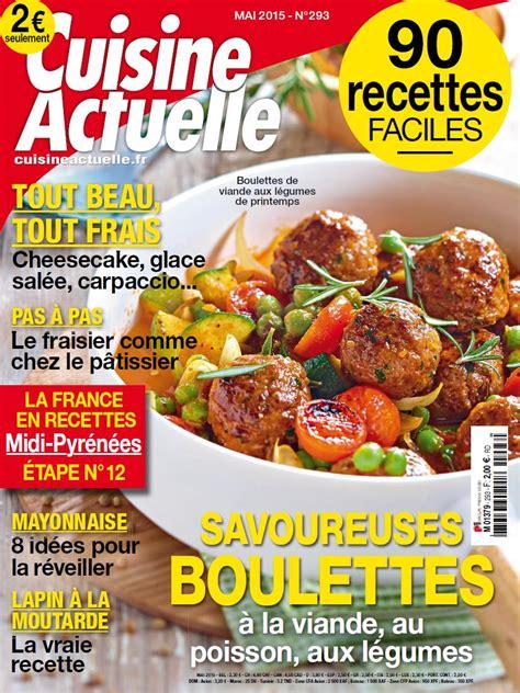 abonnement cuisine actuelle cuisine actuelle cuisine actuelle novembre 2013 no 275
